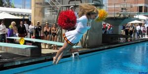usc-trojans-coach-cheerleader-getting wet-2015-nfl-mock-draft